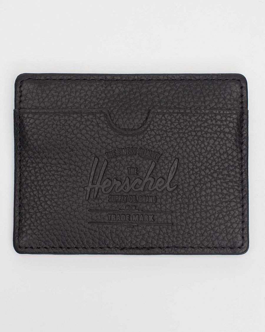 Визитница Herchel Charlie Leather Black отзывы