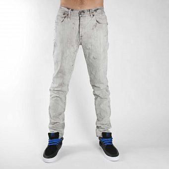 Джинсы Krew CM Bleached Black Denim Bleached Black