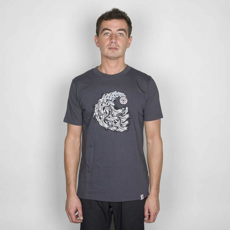 купить Футболка Carchartt S/S Looking AT YOU T/S Blacksmith в Москве