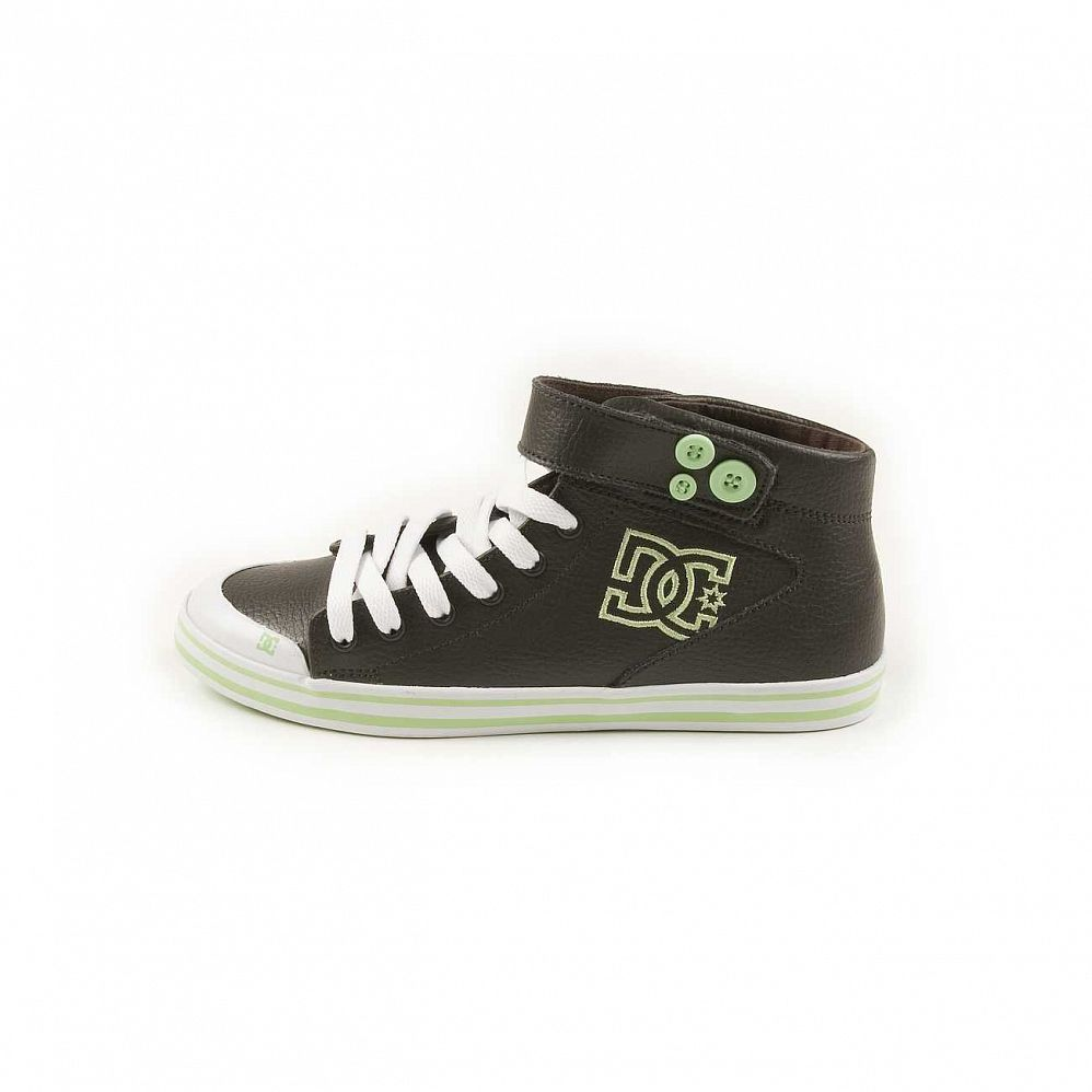 Кеды DC Shoes Venice Mid LE W'S Chocolate Green отзывы
