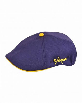 Кепка Kangol Championship 504 Cap Purple Yellow