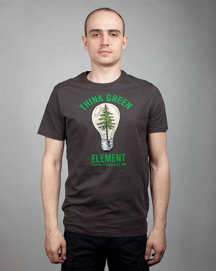 купить Футболка Element Think Green SS F Raven в Москве