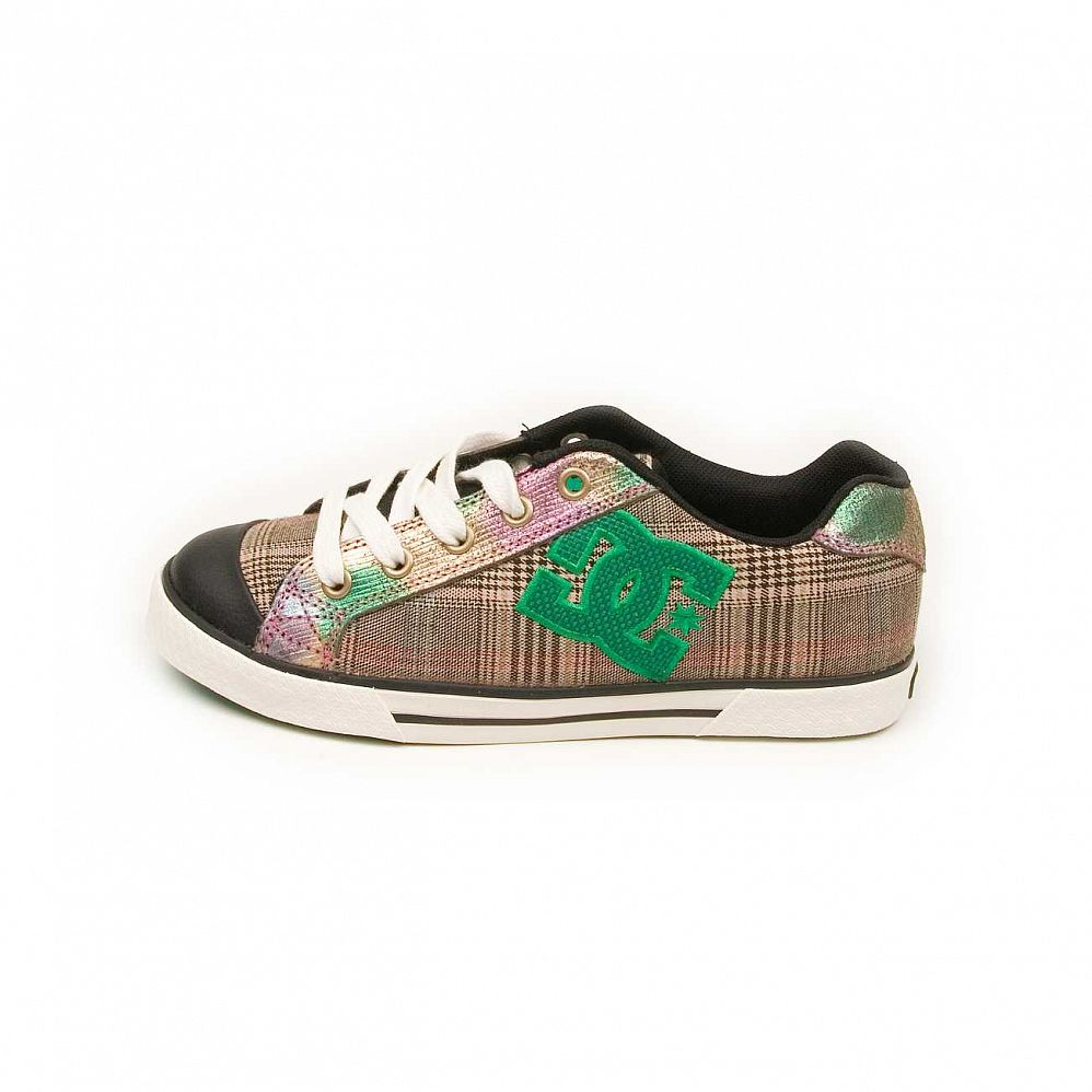 Кеды DC Shoes Chelsea W'S Black Green отзывы