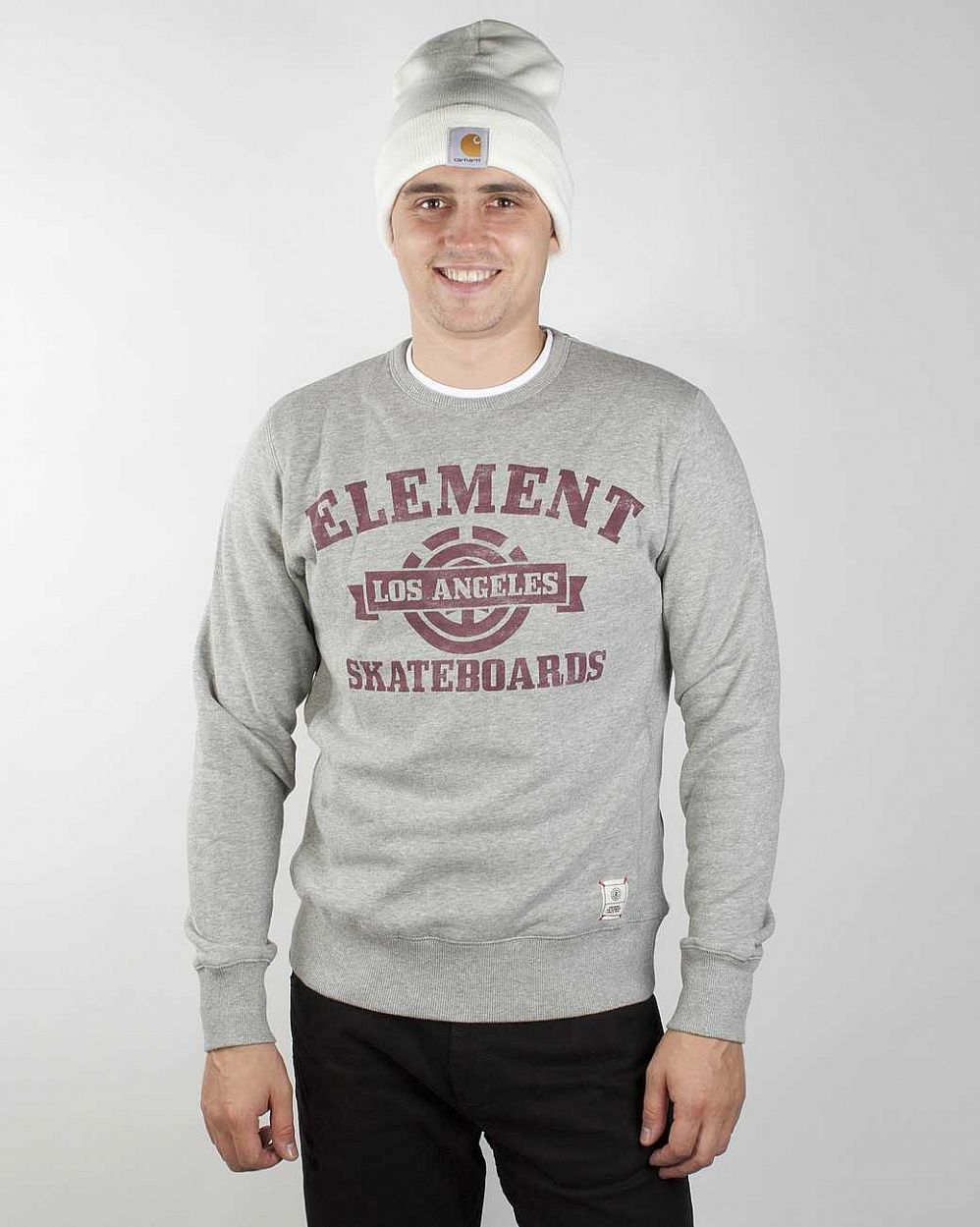 Толстовка Element Mesa W1 Grey Heather отзывы