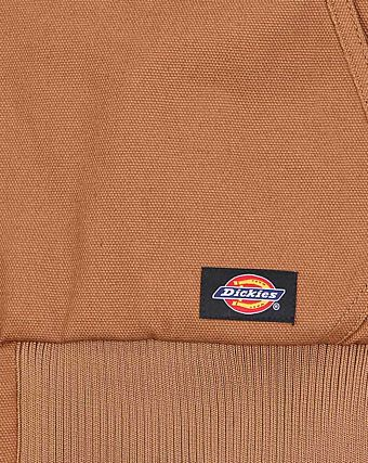 Куртка Dickies 1922 Rigid Duck Hooded Jacket Brown