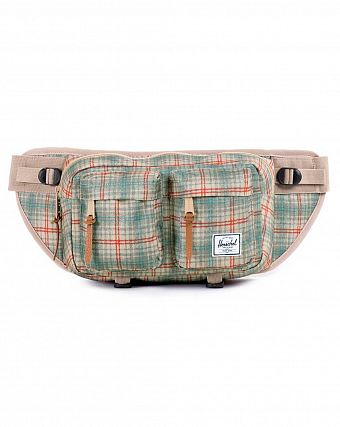 Сумка поясная Herschel Eighteen Grey Plaid