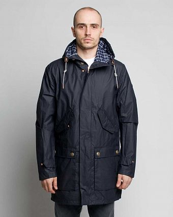 Куртка-Парка Loading Garments Supply Jacket Navy 1240