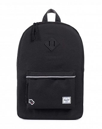 Рюкзак Herschel Heritage Hounds Away Black Grey