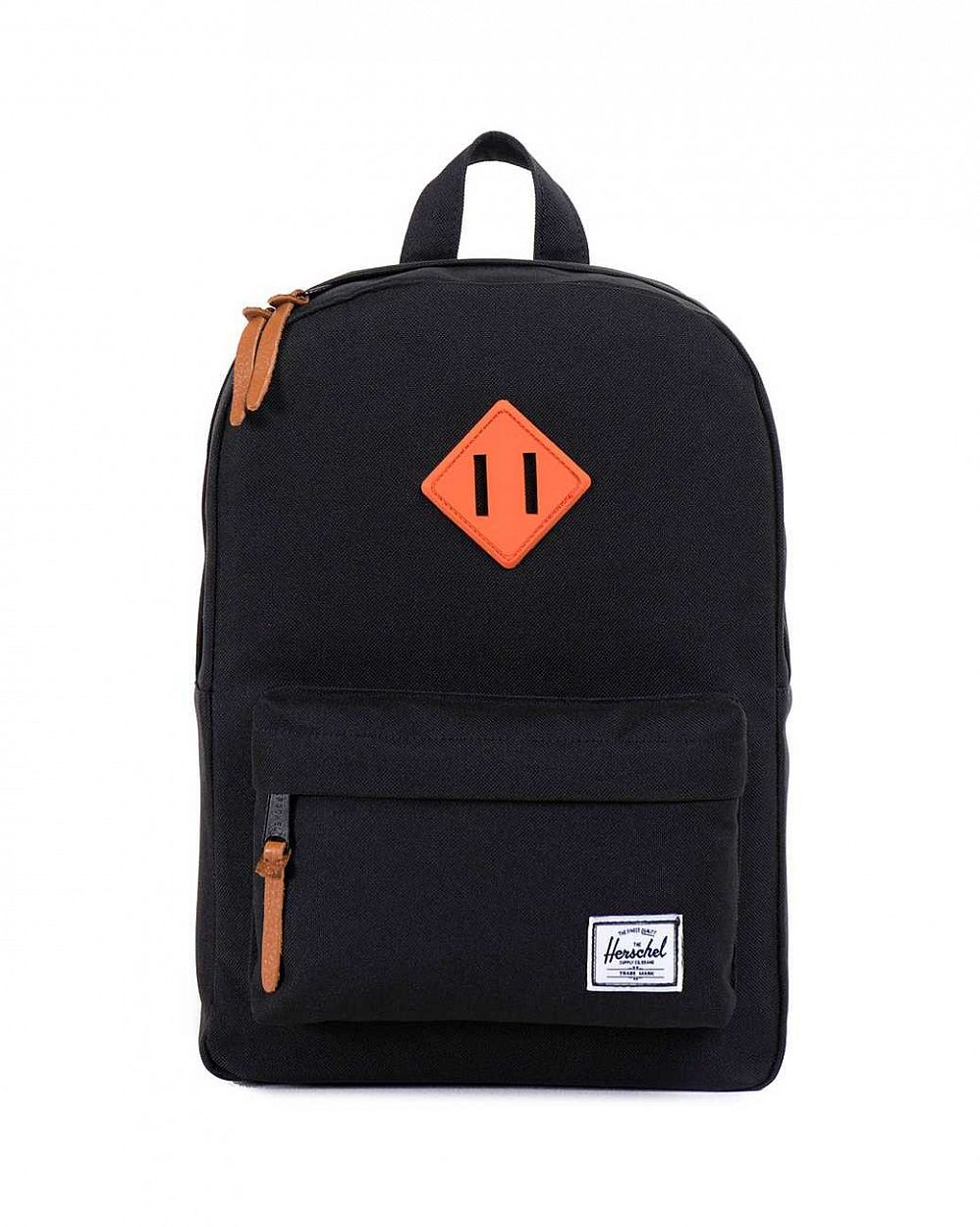 Рюкзак Herschel Heritage Kids Black Neon Orange отзывы