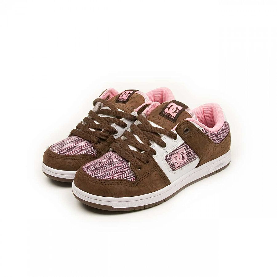 купить Кеды DC Shoes Manteca 2 W'S Dark Chocolate Pink в Москве