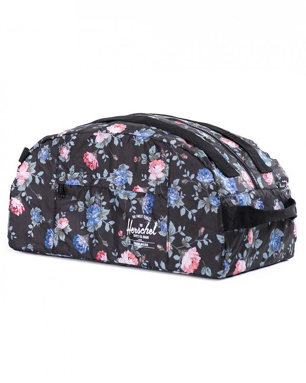 Сумка спортивная Herschel Packable Journey Black Floral цена в Москве