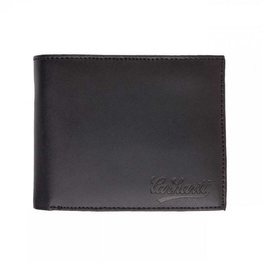 купить Кошелек Carhartt WIP Rock-it Wallet Black/black Embossing в Москве