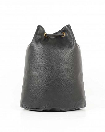 Рюкзак-мешок кожаный Mi-Pac Gold Swing Sack Bag tumbled black