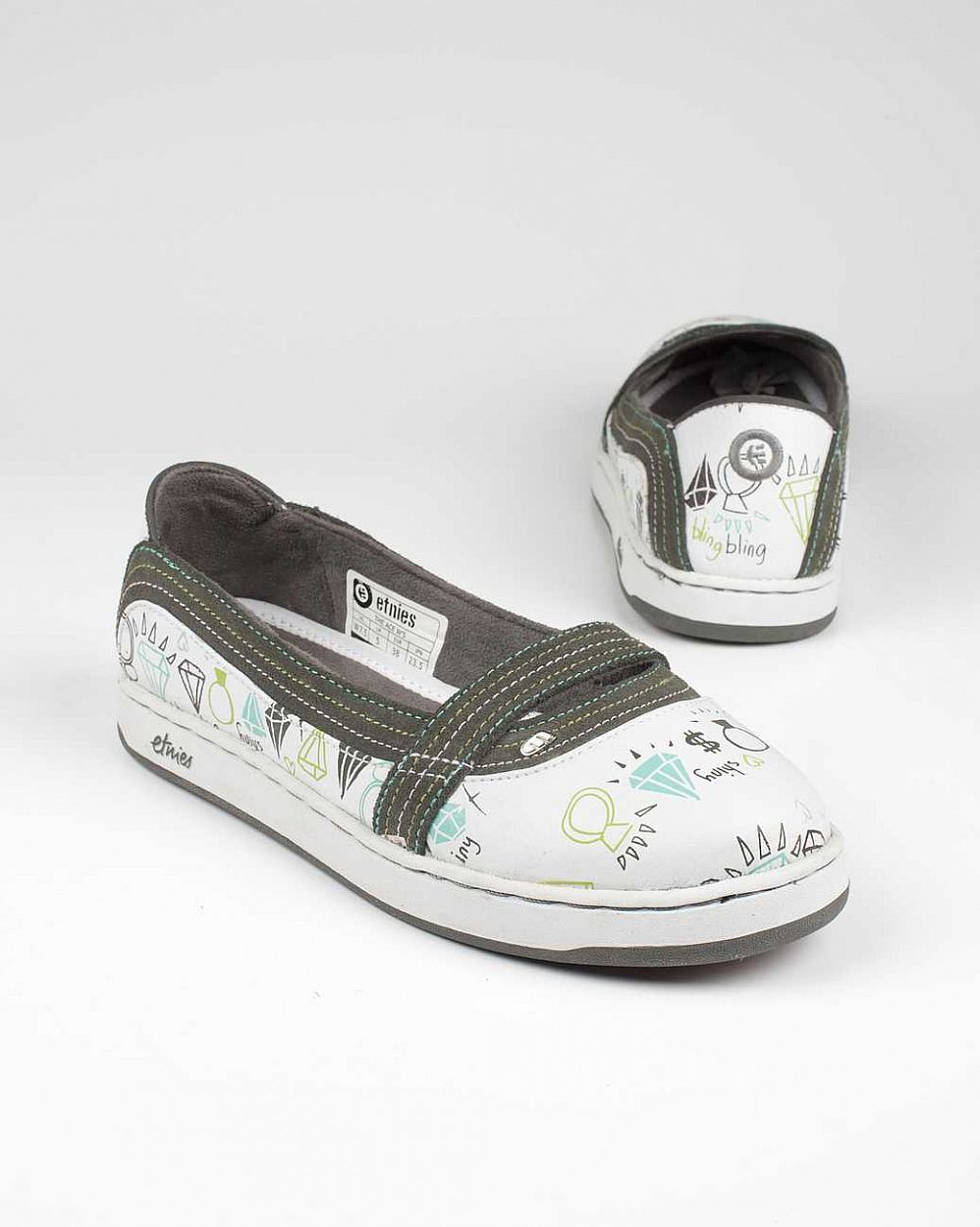 купить Кеды Etnies The Ace WS white glam в Москве