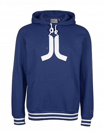 Толстовка WeSC Icon classic men's hooded sweatshirt, Estate blue