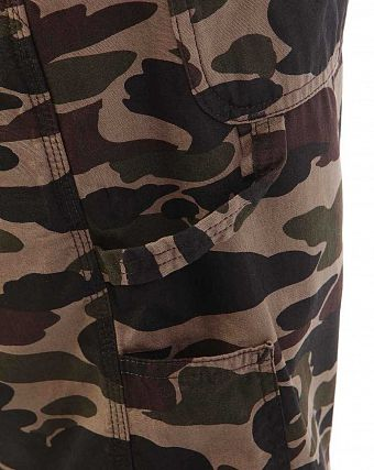 Шорты бермуды Carhartt WIP Single Knee II Anderson Cotton Canvas 6.5 Oz Camo Isle