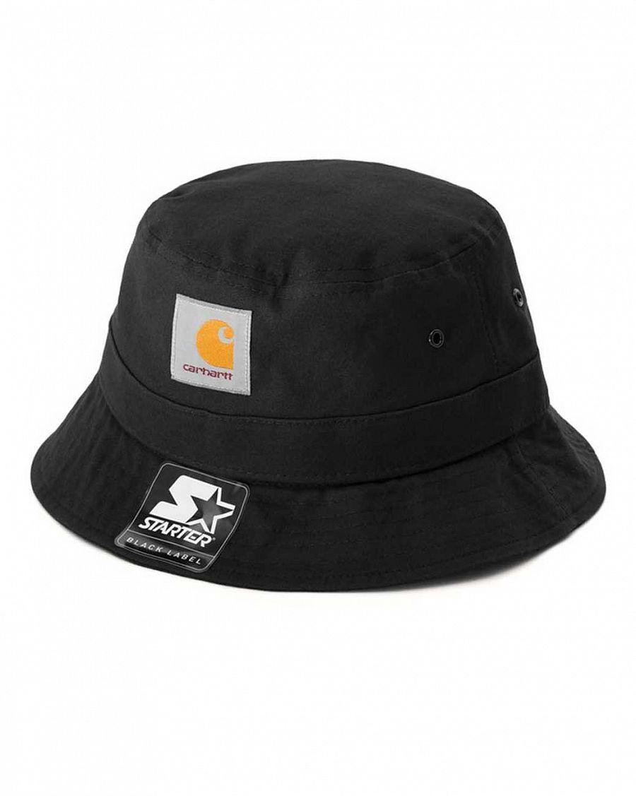 2cf2d0bba9a Панама 100% хлопок Carhartt WIP Watch Bucket Black купить в интернет ...