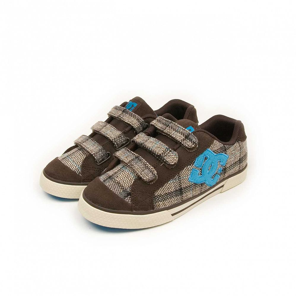 купить Кеды DC Shoes Chelsea V W'S Dark Chocolate Turquoise в Москве