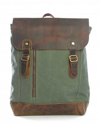 Рюкзак-мешок городской Kaukko Authentic Bags Co.Ltd FP42 Army Brown