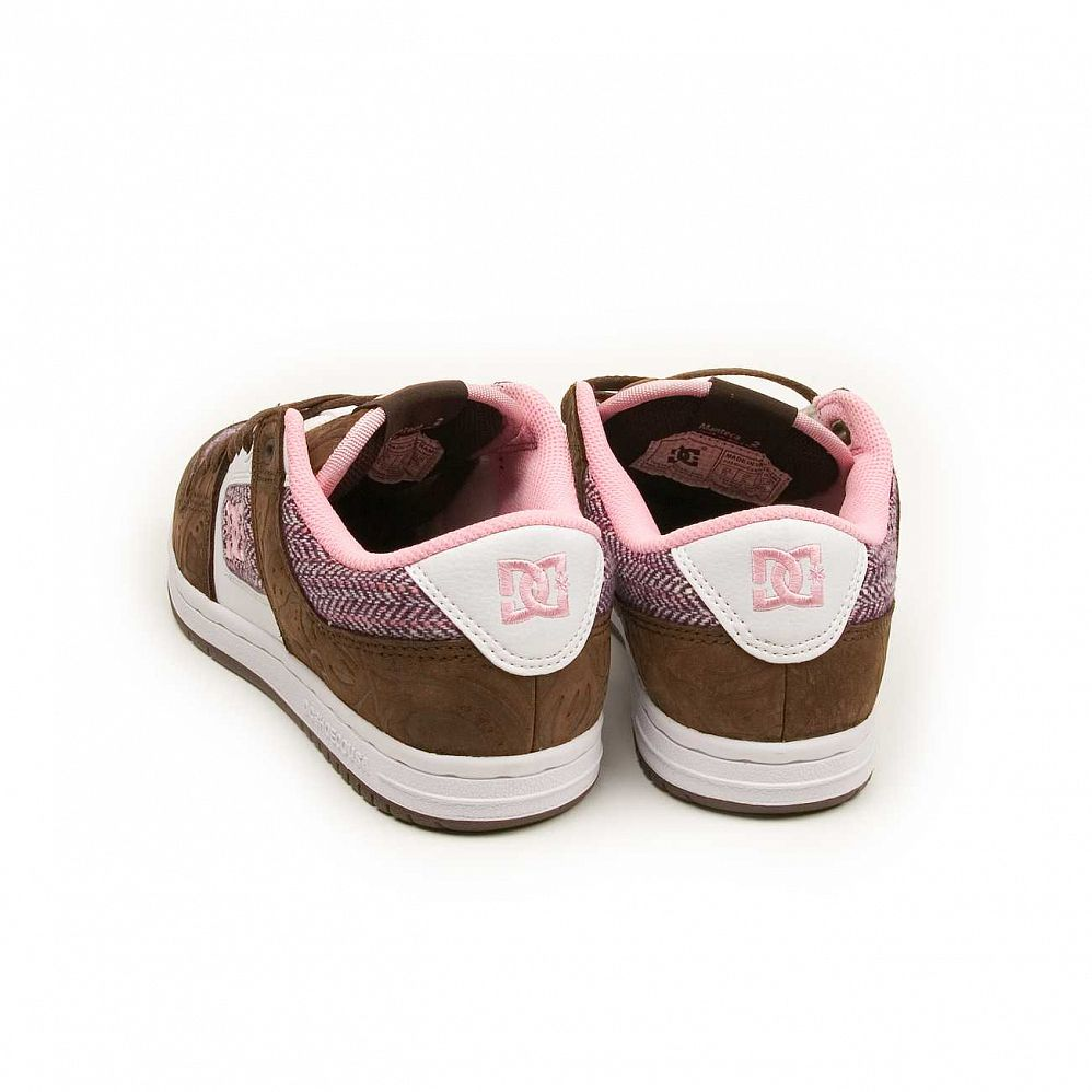 Кеды DC Shoes Manteca 2 W'S Dark Chocolate Pink интернет-магазин в Москве