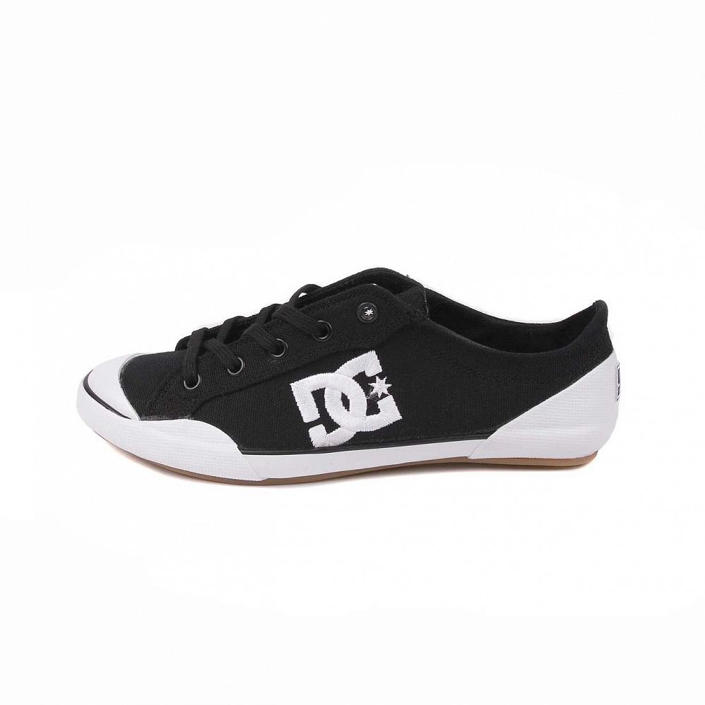 Кеды DC Shoes Chelsea Z Low W'S Black White отзывы