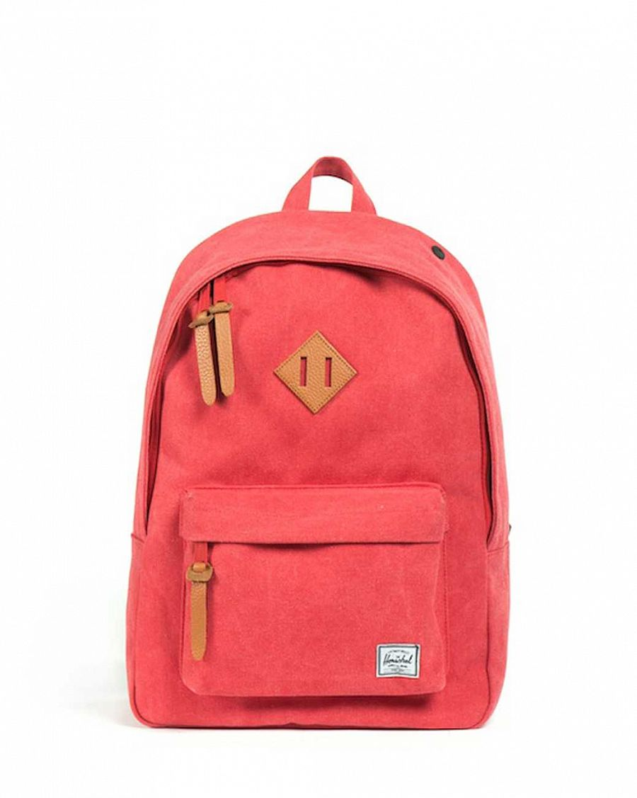 Рюкзак Herschel Woodlands Canvas Washed Red отзывы