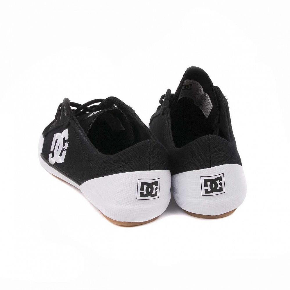 Кеды DC Shoes Chelsea Z Low W'S Black White интернет-магазин в Москве