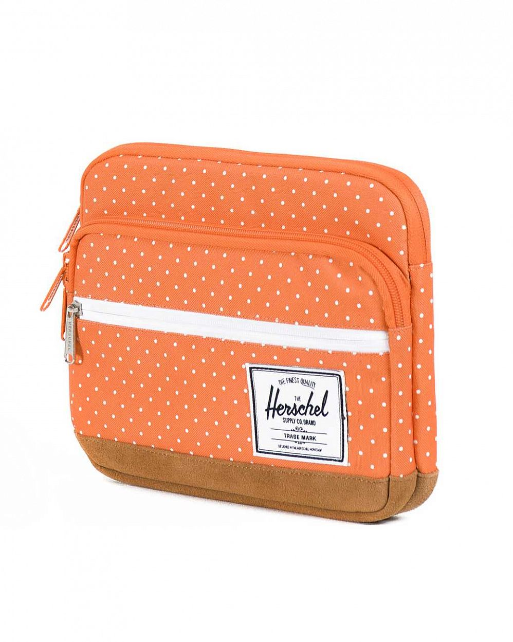 Чехол Herschel Pop Quiz Sleeve для 11'' Macbook Orange Polka Dot купить в интернете