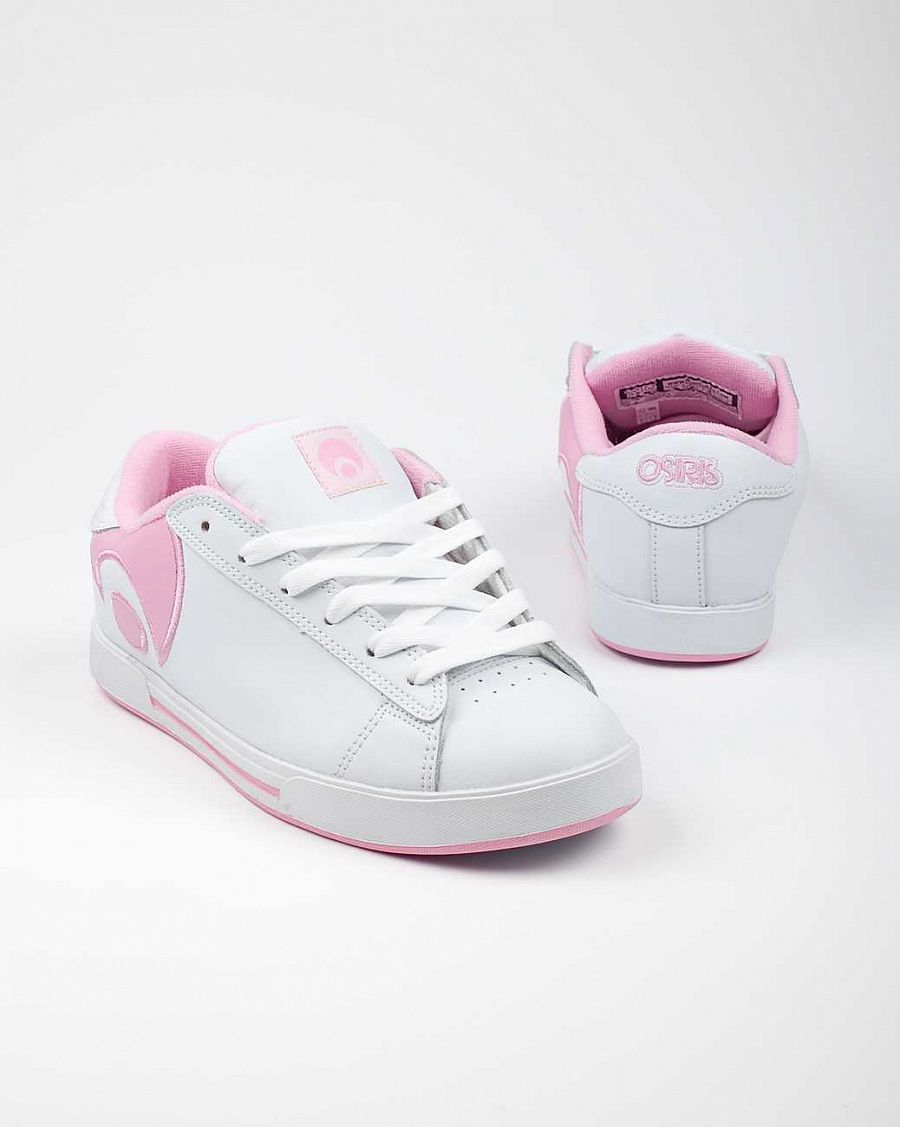 купить Кеды Osiris Serve icon Girls W'S white pink в Москве