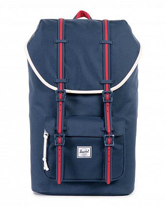 Рюкзак-мешок Herschel Little America Hounds Home Navy Red