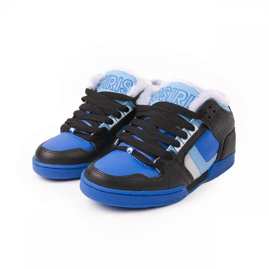 купить Кеды Osiris South Bronx Sherling Blue Black в Москве