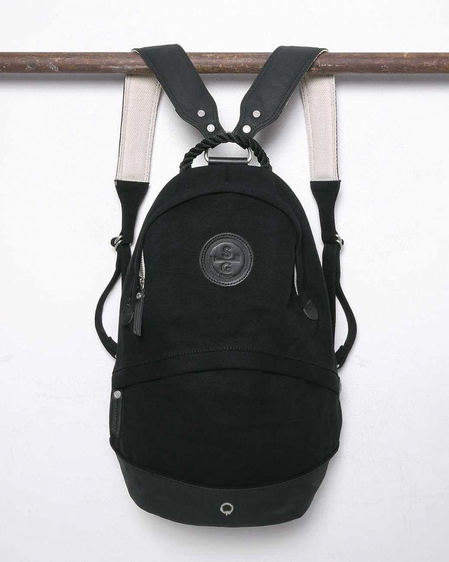 89e83af467c0 Городской рюкзак Stighlorgan Oisin Canvas Backpack Black