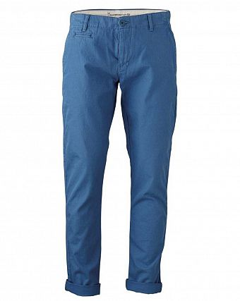 Чиносы Knowledge Cotton Apparel Twisted Twill Chinos Estate Blue