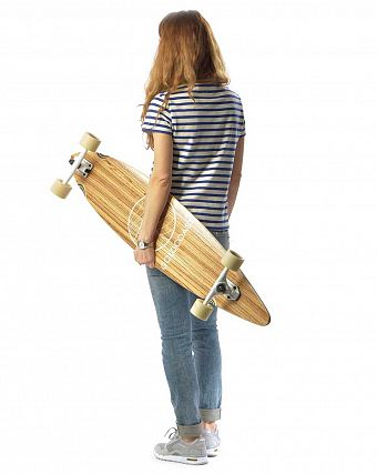 Лонгборд Gold Coast Longboards Classic Black