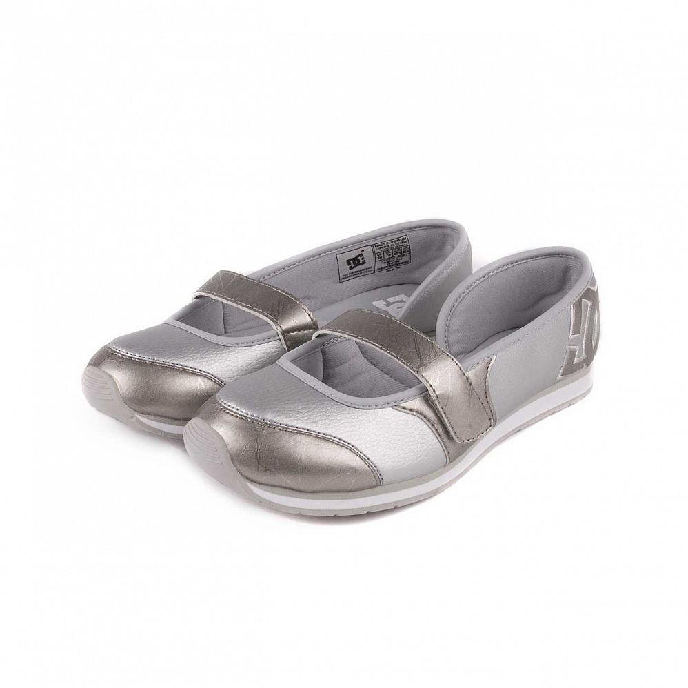 купить Кеды DC Shoes Robertson W'S Metallic Silver в Москве
