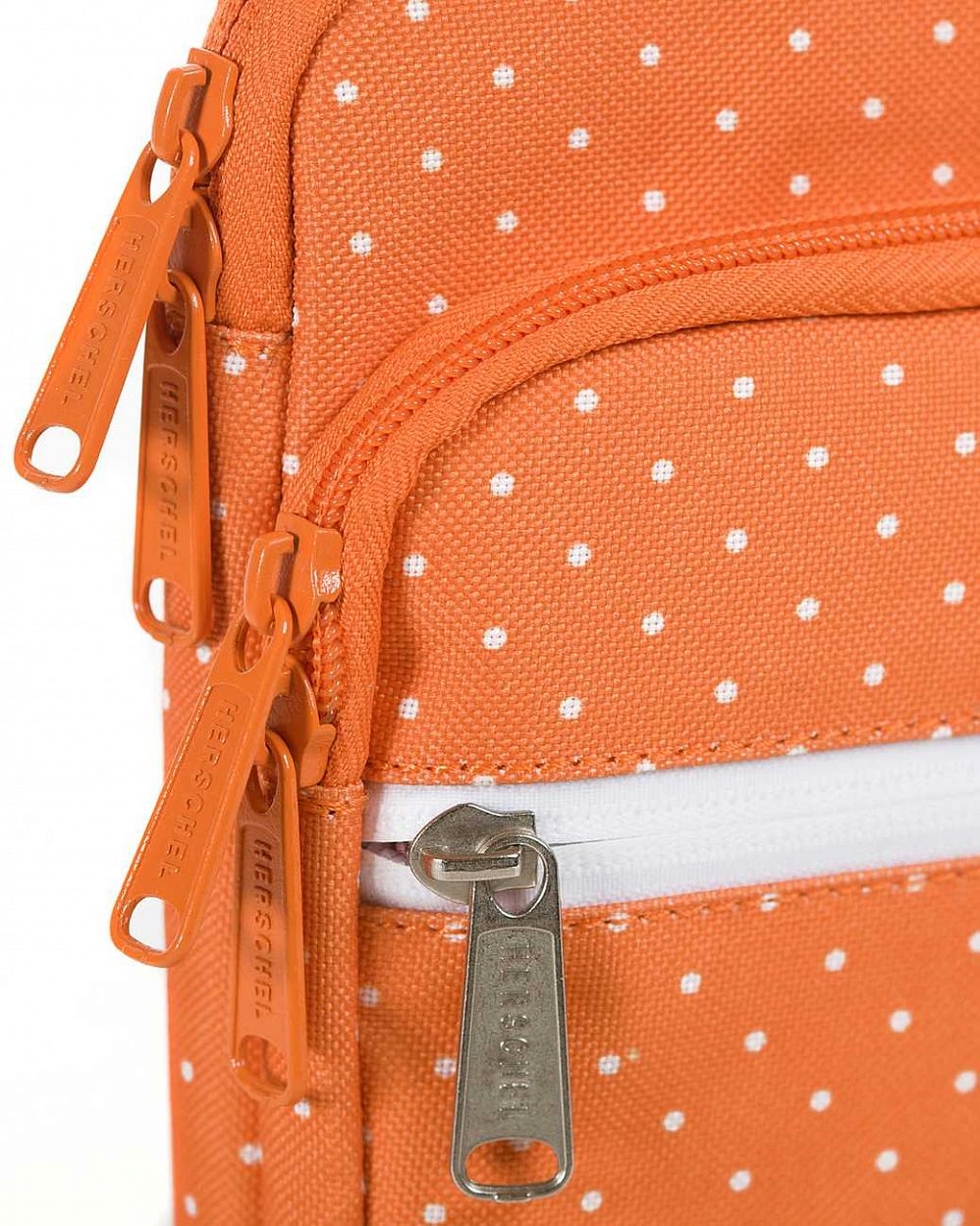 Чехол Herschel Pop Quiz Sleeve для 11'' Macbook Orange Polka Dot отзывы