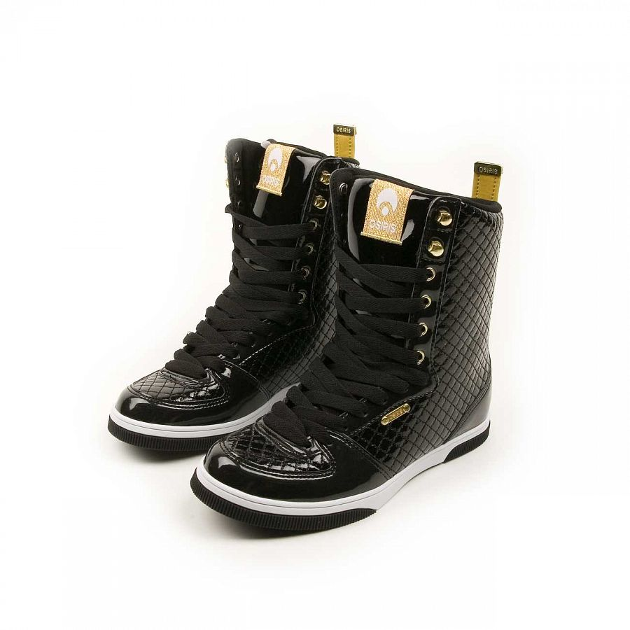 купить Кеды Osiris Uptown Limited W'S Blk/gold/quilted в Москве