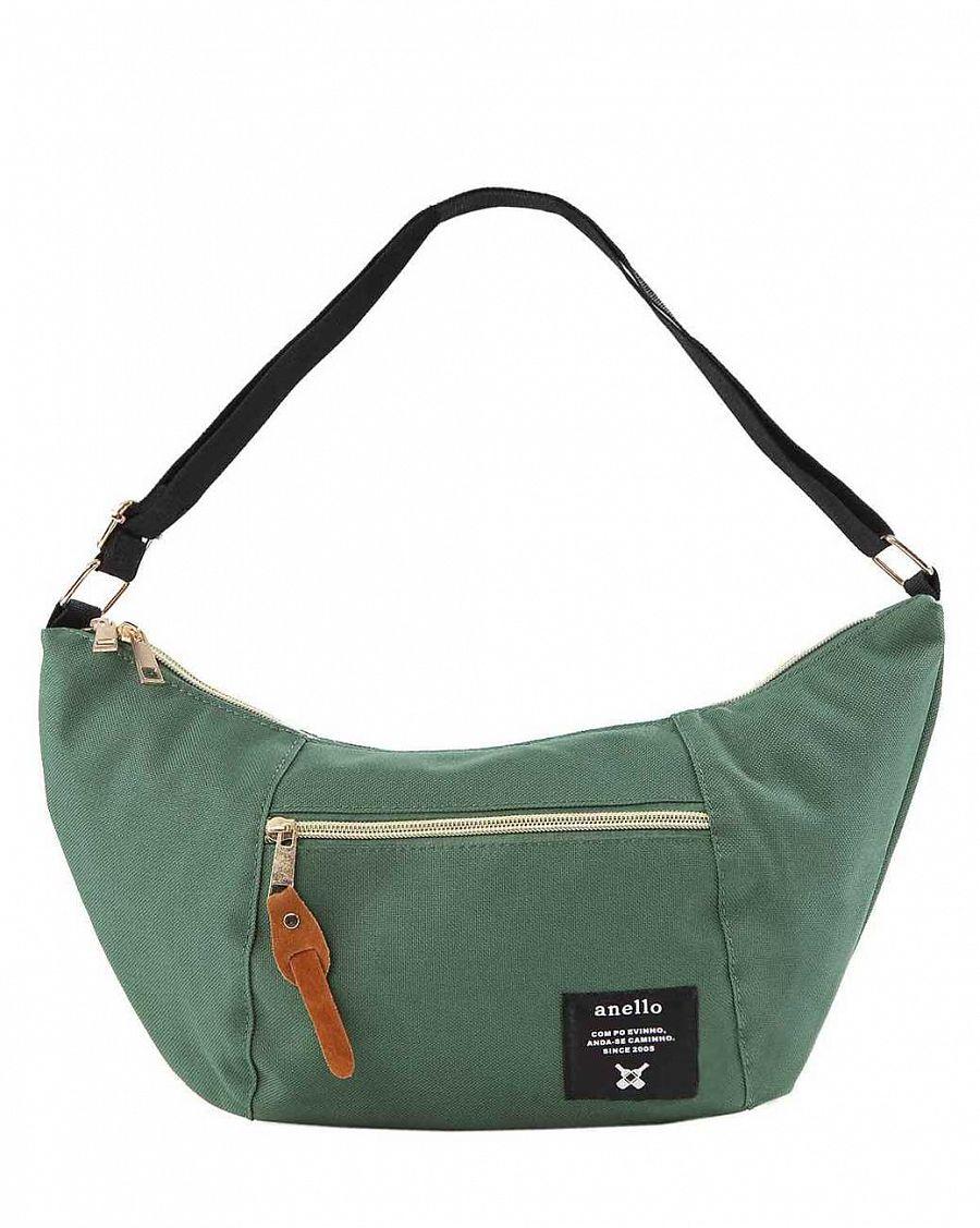 267eab3da28b Сумочка женская через плечо для документов Anello Japan Green купить ...