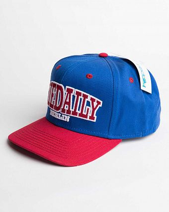 Бейсболка Iriedaily Team Cap Blue
