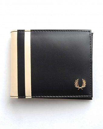Кошелек Fred Perry Multiflip Wallet Black