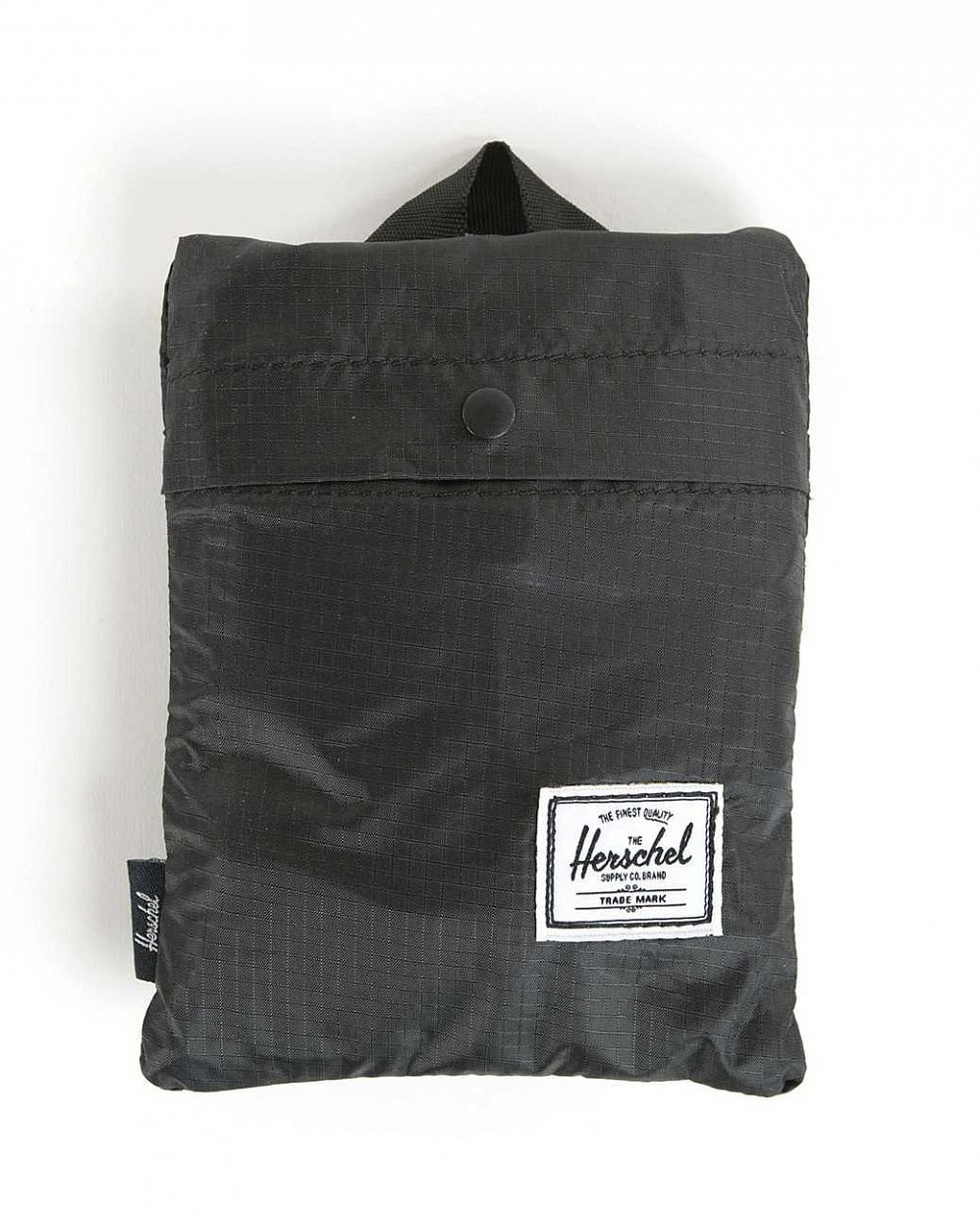 Сумка складная Herschel Packable Travel Tote Bag Black купить в интернете
