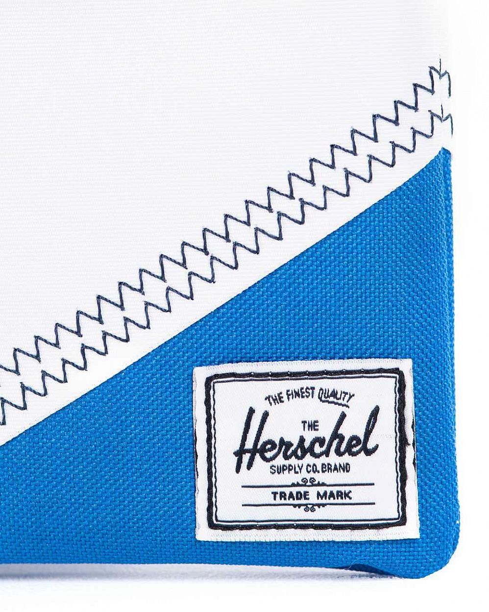 Папка Herchel Field Pouch Medium White Yellow Regatta интернет-магазин в Москве