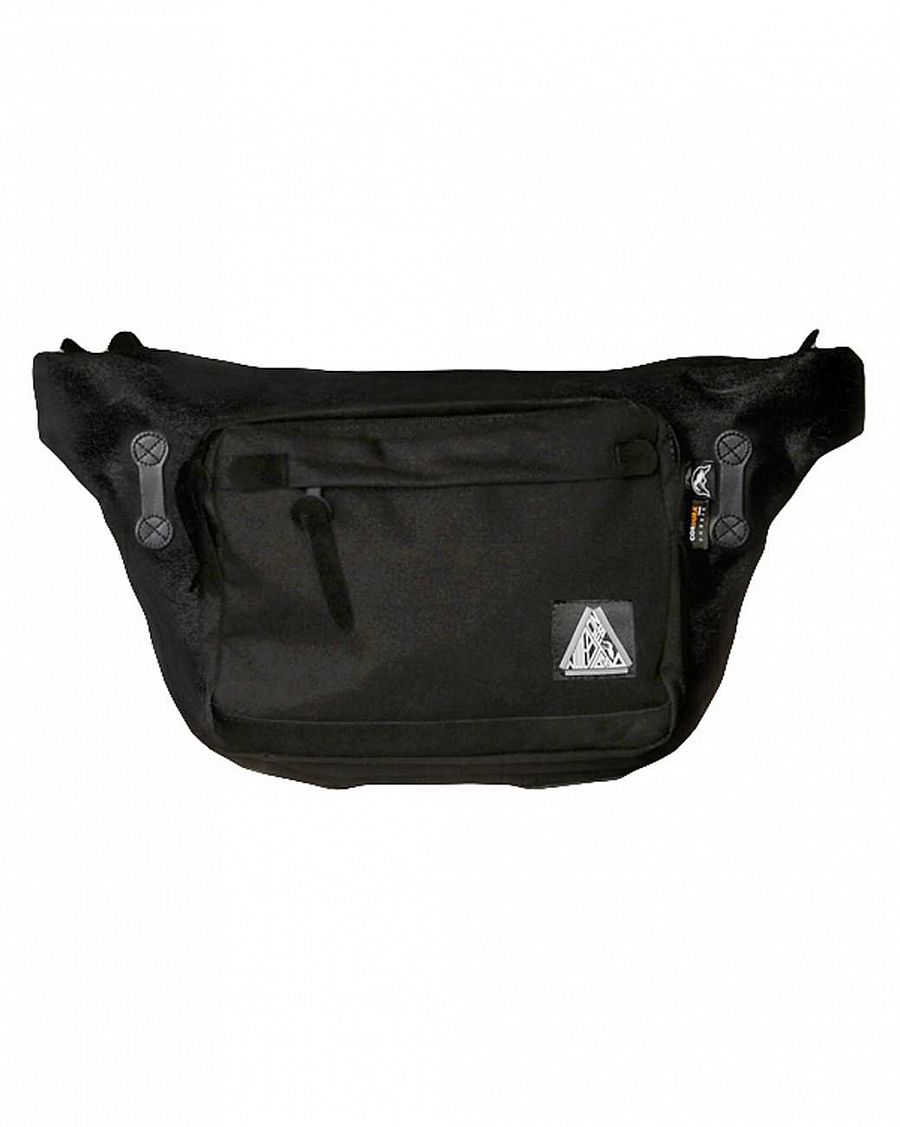 Поясная сумка NudeBones Waistbag Black отзывы