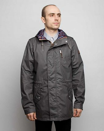 Куртка-Парка Loading Garments Supply Jacket Grey 1225