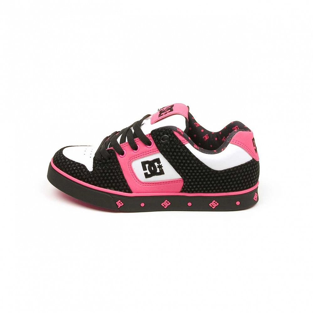Кеды DC Shoes Pure SE Ladies Shoe Blk/crazy Pink отзывы