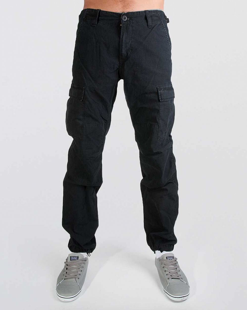 Брюки зауженные Carhartt WIP Aviation Regular Ripstop 6,5 Oz Stone отзывы
