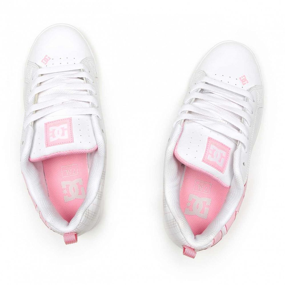 Кеды DC Shoes Court Graffik W'S SE Shoe White/lt Grey купить в интернете