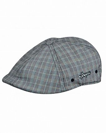 Кепка летняя Kangol Plaid Flexfit 504 Nano Check