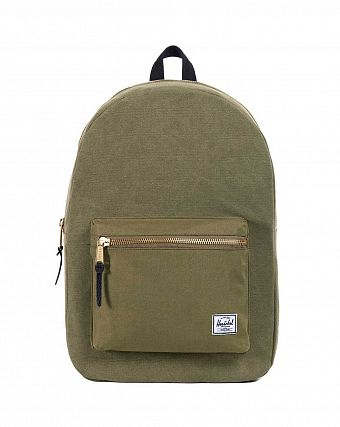 Рюкзак городской Herschel Settlement Canvas Army Black