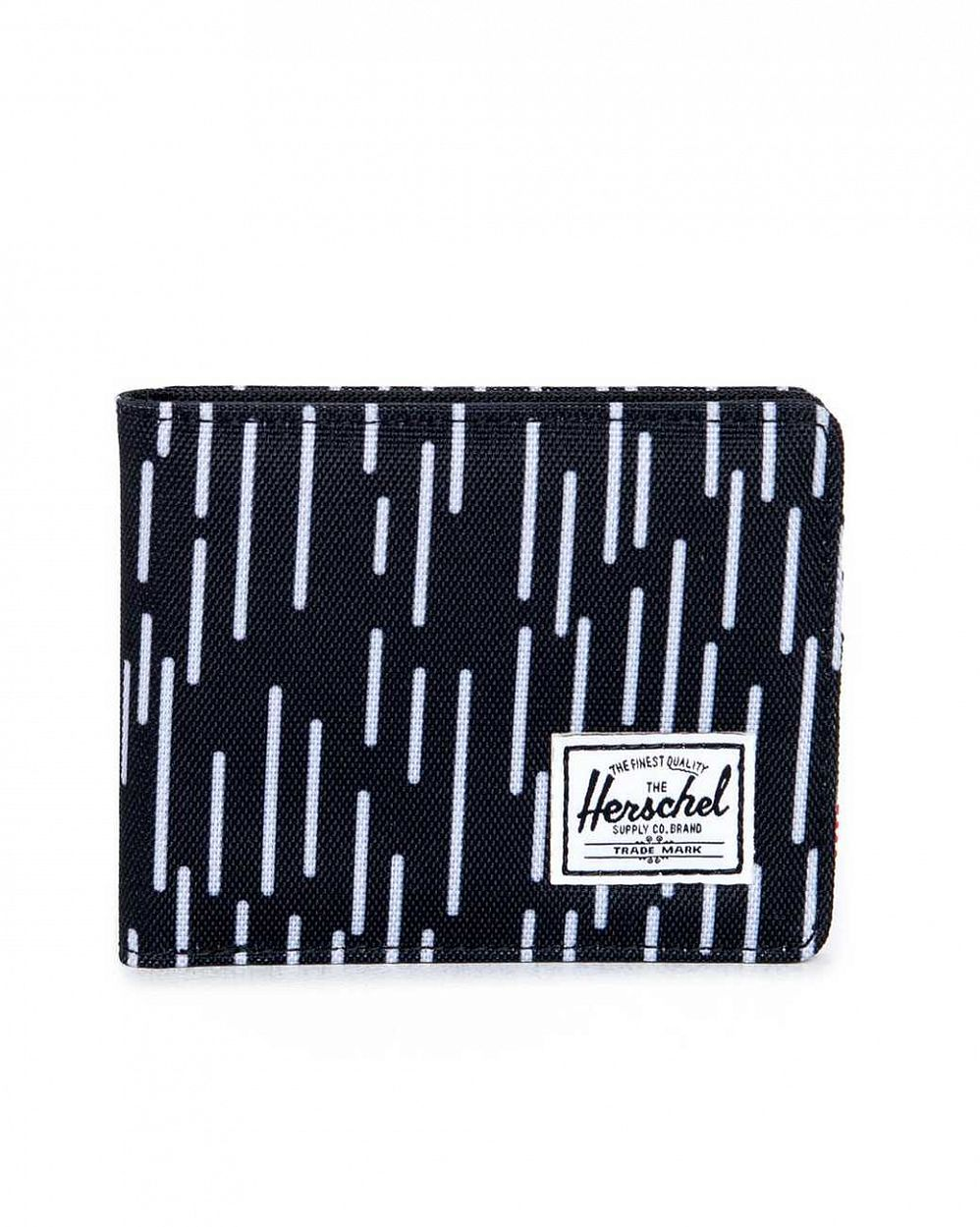 Кошелек Herschel Roy Black White Rain отзывы